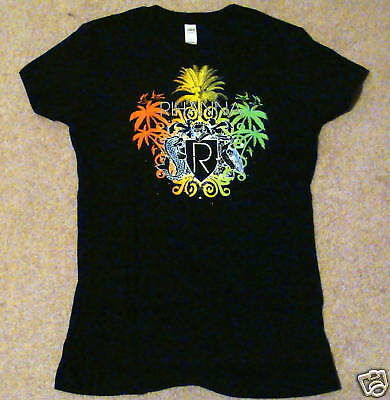 RIHANNA Baby Doll Tour T-Shirt Size Large NEW