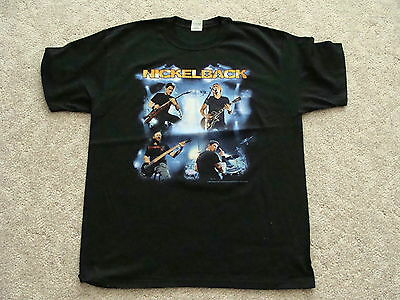 Nickelback 2009 Tour with dates NEW T-SHIRT Large