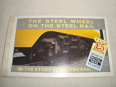 The Steel Wheel Stamp Booklet (No Stamps) - The Story of British Rail