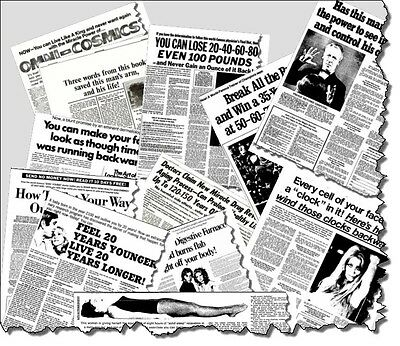 COPYWRITING! 27 Recently Discovered EUGENE SCHWARTZ SWIPE FILES...Only $19.99!