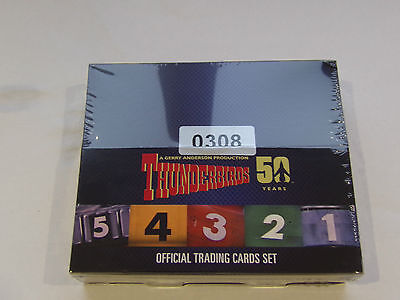 Unstoppable cards Thunderbirds 50 years factory sealed box