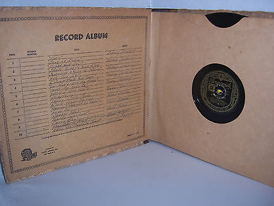 Record Collection 78's in Album SINATRA FITZGERALD MILLER on Brunswick Columbia