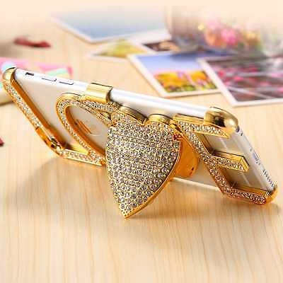 Luxury Crystal Bling Diamond Stand Hard Case Cover For iPhone 6 6s Plus 5 5s SE