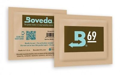 5 Boveda 69% 8gram Humipacks Factory Fresh Canada & International Buyers only!