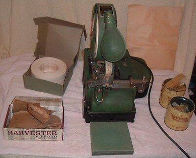 Dennison Pinning Machine Model A w Pins/Tickets/Type Tag Maker Vintage Store