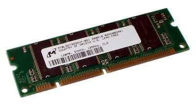 Micron MT8LSDT3232UY-8G1 128MB 125MHz CL3 100-Pin Memory