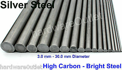 Round High Carbon Silver Steel Fly Press Power Press Punches Tooling Lathe Tools