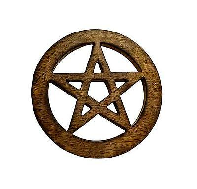 Pentagram Altar Tile - Wood