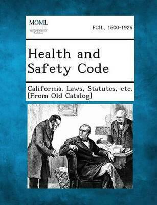 NEW Health and Safety Code by Paperback Book (English) Free Shipping