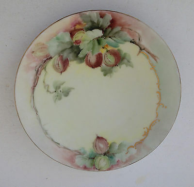 Estate Find-O.& E.g. Royal Austria Pretty Hand Painted Plate