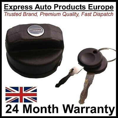 Locking Screw In Fuel Tank Filler Cap With Keys for Petrol or Diesel 45mm
