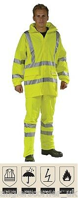 Ocean FR AST High-vis PU Jacket / Work Wear / 21-2099