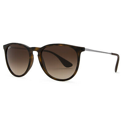 Ray-Ban Erika Classic Sunglasses 54mm (Tortoise Gunmetal / Brown Gradient)
