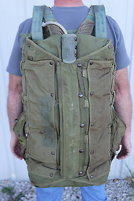 1952 Fashion Frocks USAF Military Personnel Backpack Parachute Assembly Mills