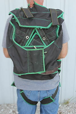 Vtg The Solution Rodriguez Parachute Systems Pack Only No Chute 1970's