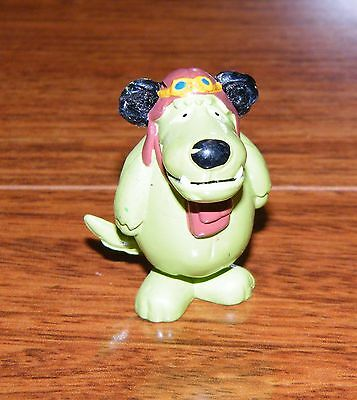 "Hanna-Barbera Wacky Racers ""Muttley"" 2"" Tall PVC Toy Figure Only"