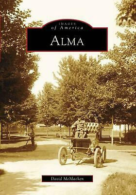 Alma by David McMacken (English) Paperback Book Free Shipping!