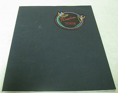 Collectible 1983 Paradise Tour Barry Manilow Concert Program Booklet