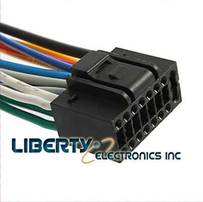 NEW WIRE HARNESS for KENWOOD DPX-301 player - $9.42   PicClick Kenwood Dpx Wiring Diagram on