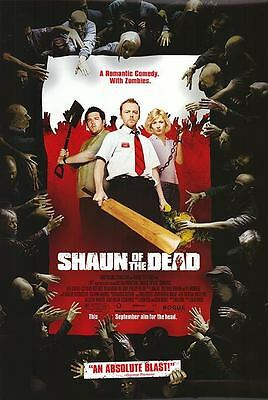 Shaun Of The Dead Double Sided Original Movie Poster 27x40 inches