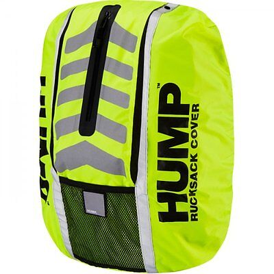 Hump Double Double HUMP Waterproof Cycle Cycling Bag Cover - Hi Vis Yellow