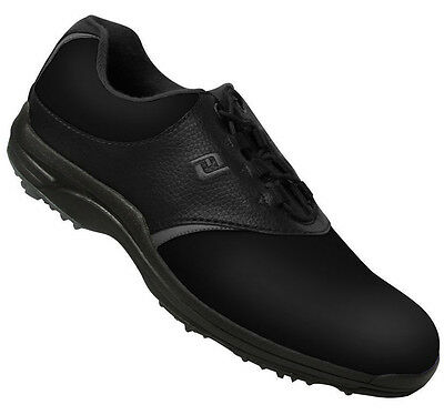 FootJoy GreenJoy Golf Shoes 45538 Black Closeout New