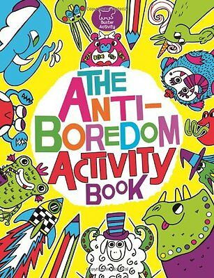 The Anti-Boredom Activity Book (Buster Activity) by Sophie Schrey (Paperback 2