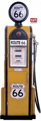 Route 66 - Retro Zapfsäule USA Poster-Sticker (100x35cm) #61380