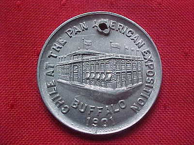 NATIONAL COMMISSION OF CHILE - Medal - Pan-American Exposition - 1901