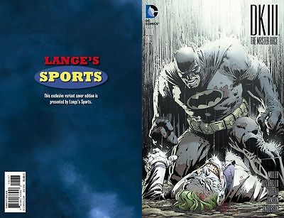 The Dark Knight Iii: The Master Race #1 David Finch Exclusive Color Nm/mint