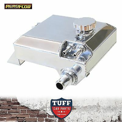 BA BF Ford Falcon 6 cylinder Aeroflow Polished Coolant Overflow Reservoir Tank