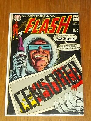 Flash #193 Fn (6.0) Dc Comics December 1969