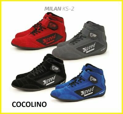 SPEED TITAN Kart Scarpe da S Grandezza 36 - 46 + GRATIS Balaclava   shoes