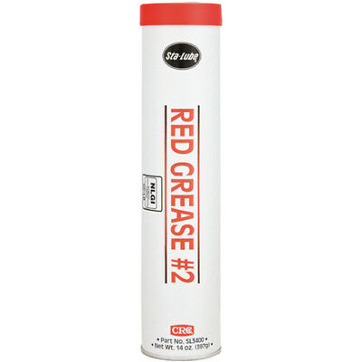 CRC Red Grease #2 Multi Purpose Lithium Grease 14oz. SL3400