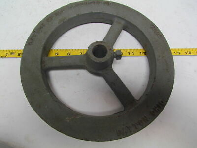 """Dayton Metal 700G 11"""" O.D. Chain Sprocket Wheel Pulley 1-5/16"""" thick cast iron"""