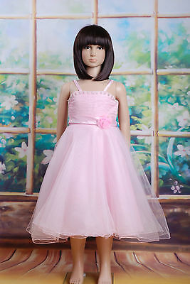 New Pink Pageant Party Flower Girl Dress 18-24 Months
