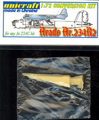 Unicraft Models 1//72 ARADO TEW 16//43-23 German World War II Jet Bomber Project