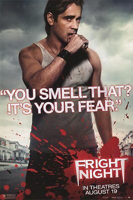 """Fright Night Version A Single  Sided 27""""x40' inches Original Movie Poster"""