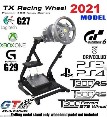 GT ART Racing Simulator Steering Wheel Stand for G27 PS4 T300 458TX T80