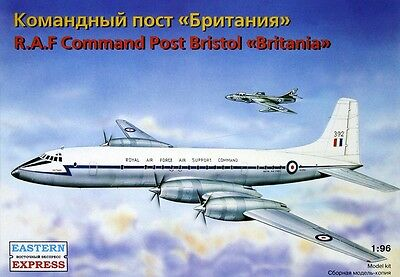 EASTERN EXPRESS 96002 - British Aircraft Command Post BRISTOL BRITANIA RAF/ 1:96