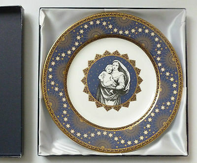 Spode Pottery Millennium Collection   LTD BOXED Nativity 10 plate w/ certificate