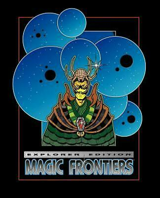 Magic Frontiers Roleplaying Game by Wynnt (English) Paperback Book Free Shipping