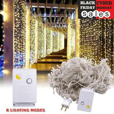 New 25 Foot Outdoor Globe Patio Garden String Lights - Set of 25 G40 Clear Bulbs