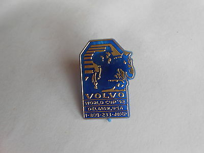 Vintage 1992 Show Jumping World Cup Delmar Horse Jumping Souvenir Plastic Pin