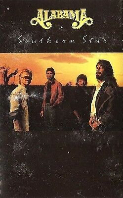 Southern Star - ALABAMA (Cassette 1988) RCA & BMG ~ INLAY EXTRAS ~ Used Cassette