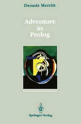 Adventure in PROLOG by Dennis Merritt (English) Paperback Book Free Shipping!