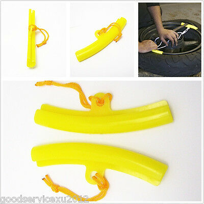 One Set Motorcycles Changing Wheel Tire Tyre Rim Edge Protection Tools For KYMCO