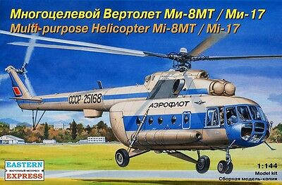EASTERN EXPRESS 14500 - Soviet Civil Helicopter Mi-8MT / Mi-17 / Modellbau 1:144