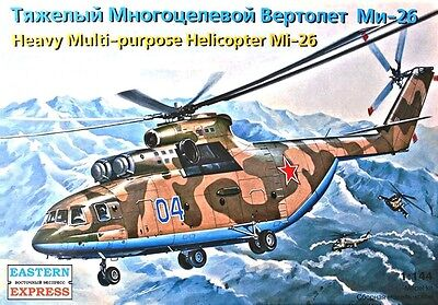 EASTERN EXPRESS 14502 - Soviet Heavy Military Helicopter Mi-26 / Modellbau 1:144