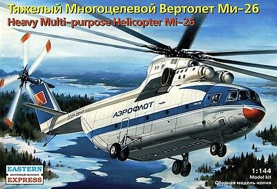 EASTERN EXPRESS 14503 - Soviet Heavy Civil Helicopter Mi-26 /Modellbausatz 1:144